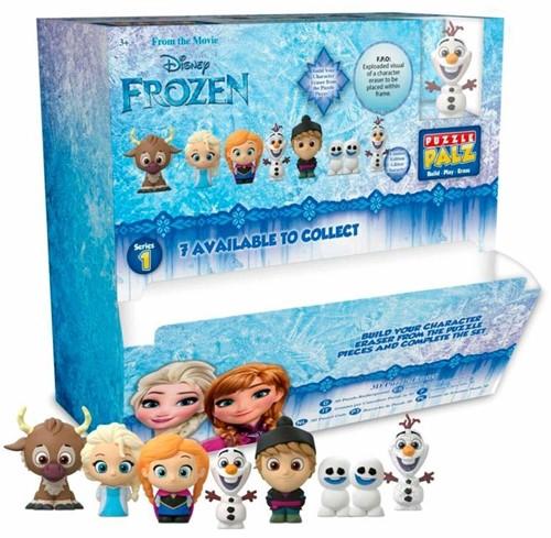 Disney Frozen 3D Puzzel Gum 7 assorti in display (24) 4,5x6cm