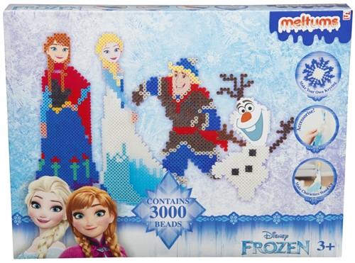 Disney Frozen Meltums Strijkkralenset 3000 stuks 25x32cm