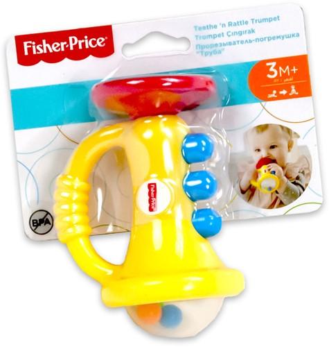 Fisher Price Bijtring Trompet