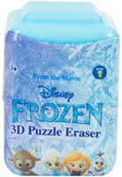 Disney Frozen 3D Puzzel Gum 7 assorti in display (24) 4,5x6cm-2