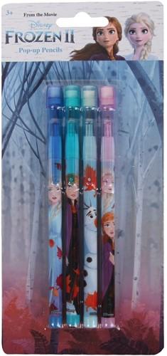 Disney Frozen 2 Pop Up Pencils 4-Pack