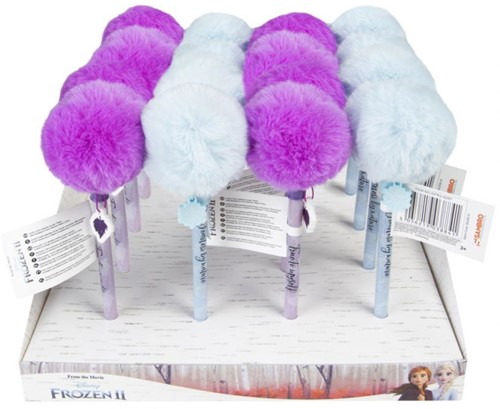Disney Frozen 2 Pom Pom Pen in display
