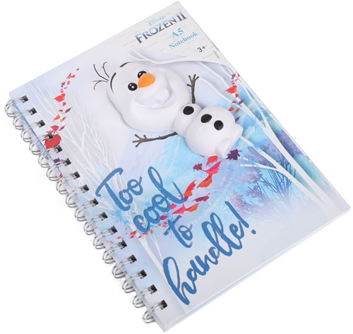 Disney Frozen 2 Notitieboek A5 + Squishy Olaf