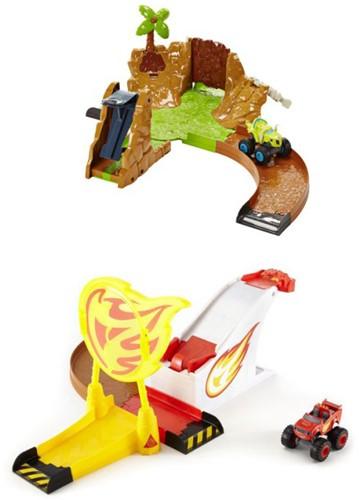 Fisher-Price Blaze Die-Cast Racebaan 2 assorti 28x33cm -2