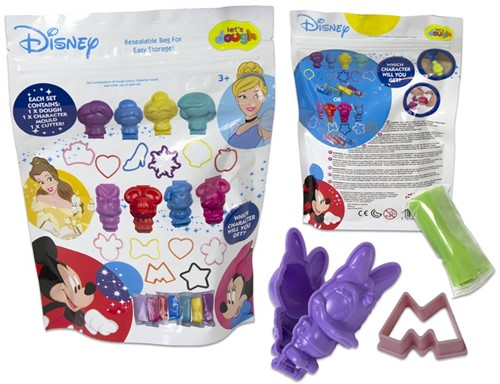 Disney Let's Dough Verrassingszak klei 14x19cm