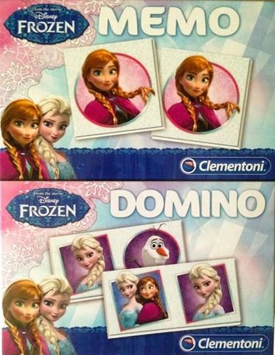 Disney Frozen 2in1 set Memo Domino 17x22cm