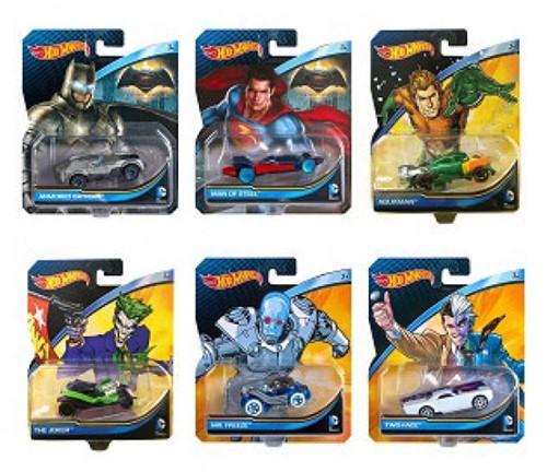 Hot Wheels Die Cast DC Comics assorti