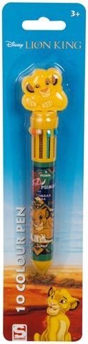 Disney Lion King 10 kleuren pen 16cm