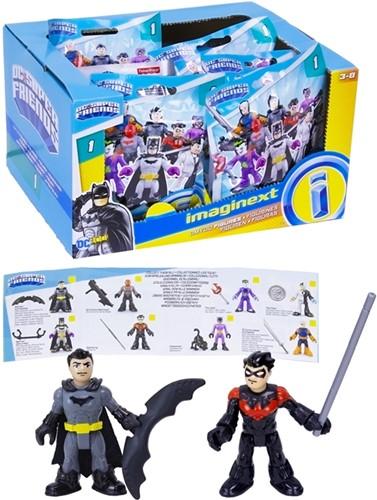 Blind Bag DC Super Friends verzamelfiguren assorti in display 11x16cm