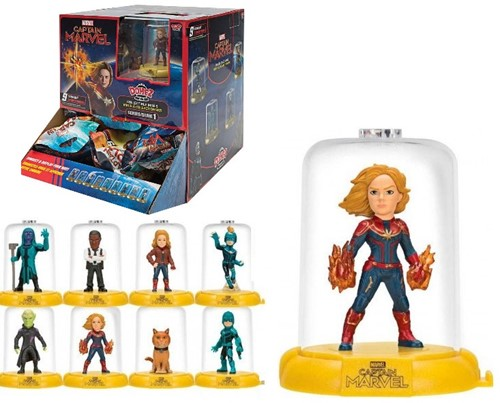 Marvel Captain America Verzamelfiguur 6cm Blindbag Serie 1 in Display