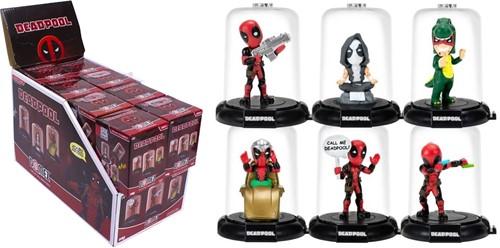 Deadpool Verzamelfiguur in doos 6x8cm assorti in display