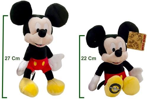Disney Pluche Mickey & Minnie Mouse 90th Anniversary 2 assorti 22cm-2
