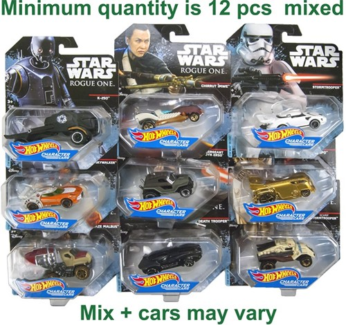 Hot Wheels Star Wars Roque One voertuigen assorti