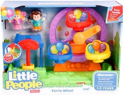 Fisher-Price Little People Reuzenrad met geluid (UK)