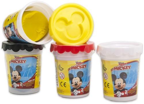 Mickey Mouse Kleipotje Dough Tub 4 assorti 8cm