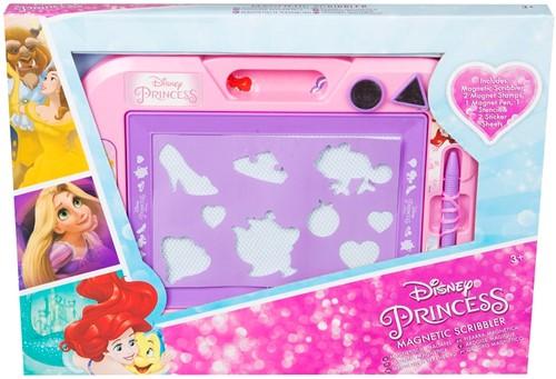Disney Princess Magneet tekenbord + 2 Stempels + 2 Stickervellen 28x38cm