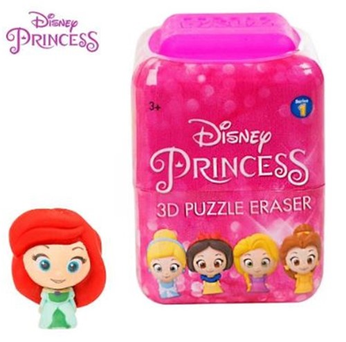 Disney Princess Puzzle Palz 3D Puzzel Gum 7 assorti in display (24) 4,5x6cm