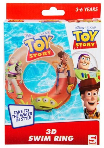 Toy Story 3D Zwemring in box