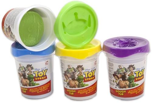 Toy Story Kleipotje Dough Tub 4 assorti 8cm