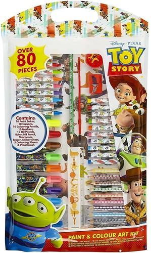 Disney Toy Story Paint & Colour Art Kit 80pcs 27x48cm