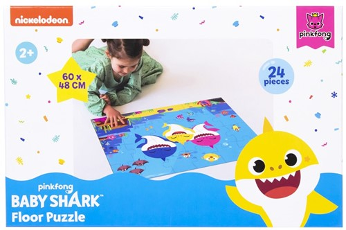Pinkfong Baby Shark Floor Puzzle 24pcs 48x60cm