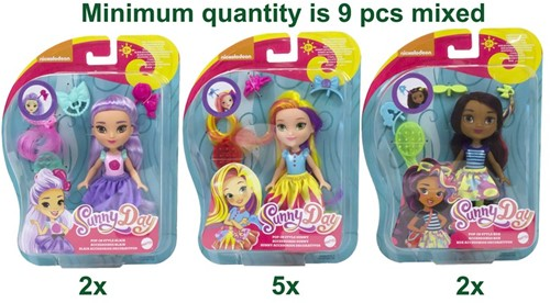 Mattel Sunny Day Pop in Style 3 assorti