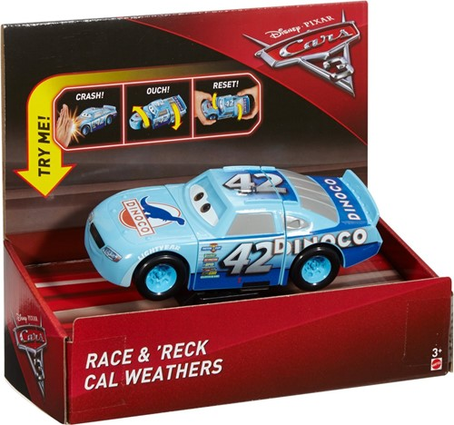 Disney Cars 3 Super Crash Cal Weathers 19x22cm