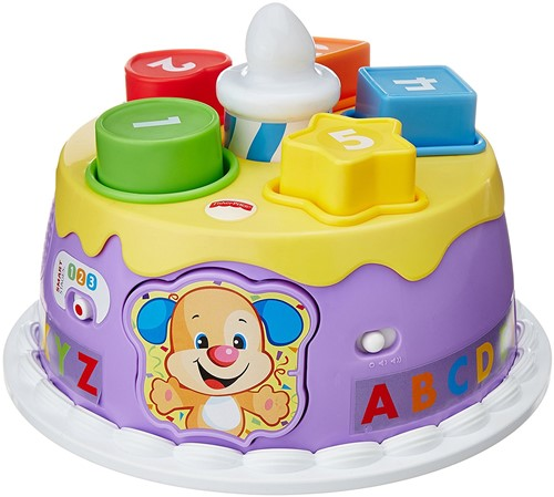 Fisher Price Laugh & Learn Lights Birthday Cake 25x27cm-2