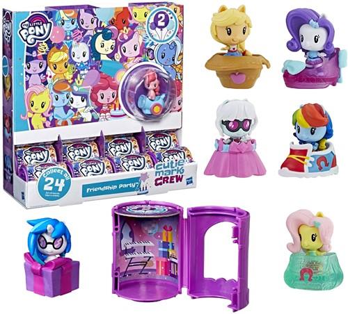 My Little Pony Pony in verrassingshuisje assorti in display (24)