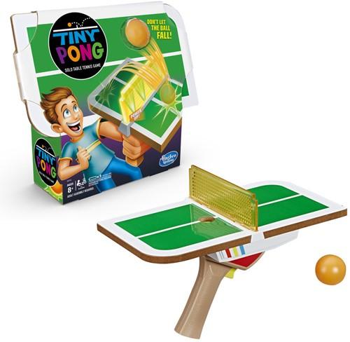 Hasbro Gaming Tiny Pong Solo Table Tennis Game 21x26cm