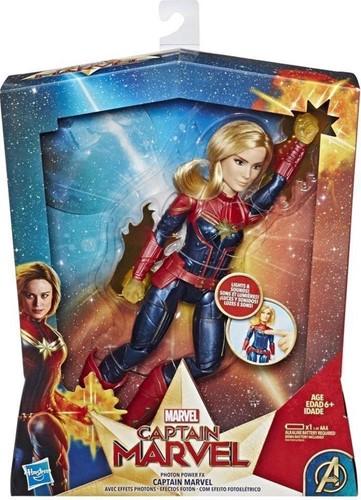 Marvel Captain Marvel speelgoedfiguur met licht en geluid, Photon Power FX