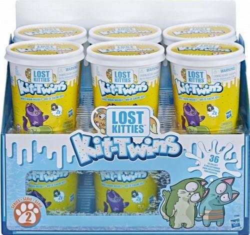 Lost Kitties verzamelfiguren Kit Twins in display 9,5x11cm (Hasbro)