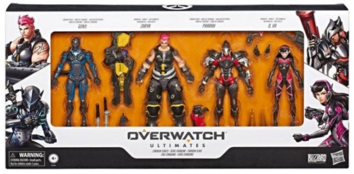Overwatch Ultimates Action Figures 5-Pack 25x53cm