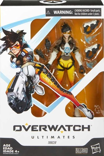 Overwatch Ultimates Tracer Action Figure 15,5x23cm
