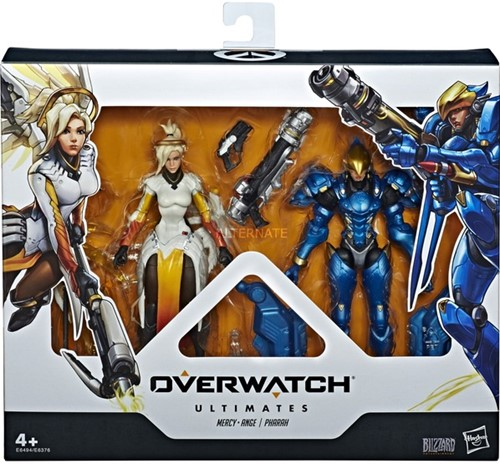 Overwatch Ultimates Action Figures 2-Pack Mercy + Pharan
