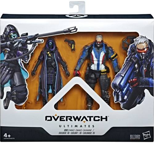 Overwatch Ultimates Action Figures 2-Pack Ana + Soldier 76