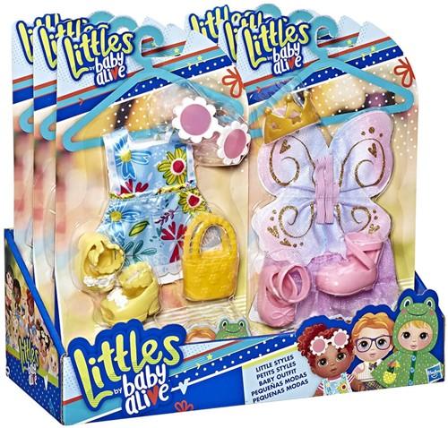 Habro Littles Baby Alive Little Styles assorti 15x28cm