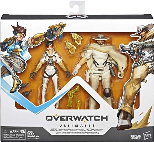Overwatch Ultimates Action Figures 2-Pack Tracer + McCree