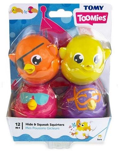 Tomy Toomies Hide & Squeak Squirters 14x18cm
