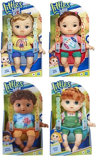 Hasbro Littles Baby Alive Pop met toebehoren 4 assorti 17x25cm