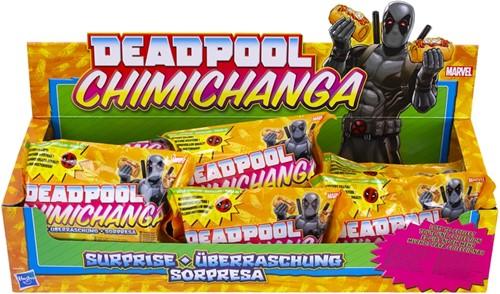 Blind Bag Marvel Deadpool Chimichanga verzamelfiguren assorti in display (12)