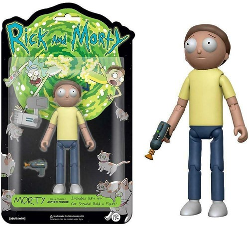 Funko Action Fig Rick & Morty Morty