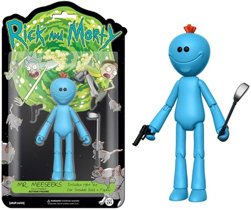 Funko Action Fig Rick & Morty Mr. Meeseeks