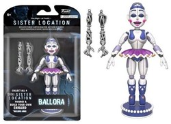 """Funko Articulated Fig Five Nights at Freddy's 5"""""""" Ballora"""