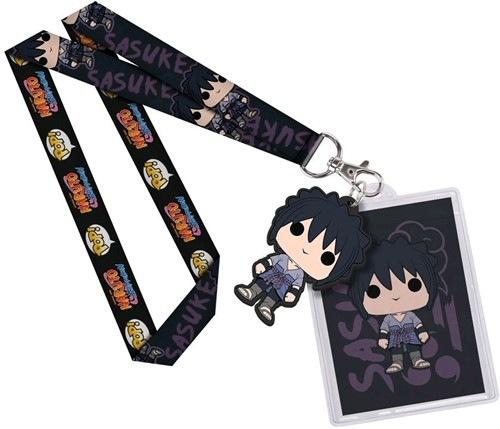 Lanyard Naruto Blue Key Chain