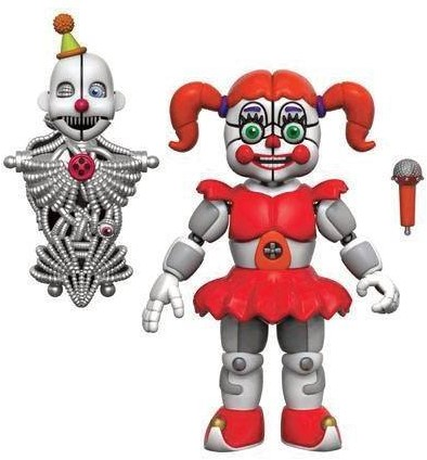 """Five Nights at Freddys Action Fig Asst 5"""" Baby"""