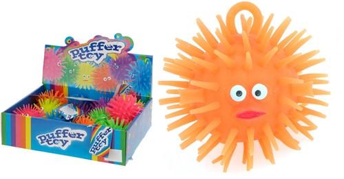 Puffer Toy fluffy ball 3 assorti 8cm