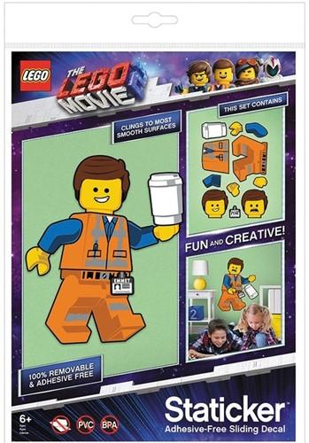 Lego the Movie 2 Emmet Staticker Stickers 22x30cm