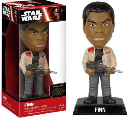 Wacky Wobbler Star Wars EP7 Finn