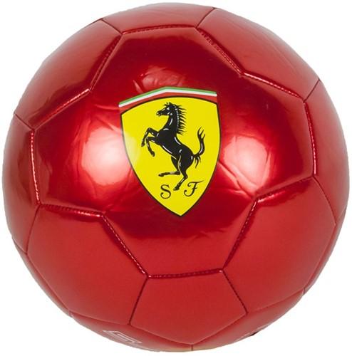 Ferrari Voetbal Metallic Rood 450 gram Size 5